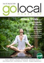 A look inside.... - Go Local Magazine