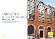 1 STAR STREET City of Westminster - Savills