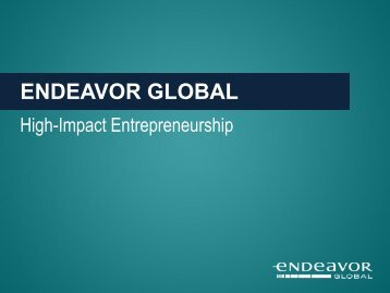Endeavor Global Model.pdf