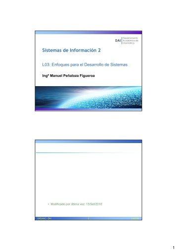 pdf x 2 - Ingeniería Informática y de Sistemas
