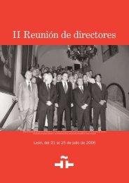 Separata: II Reunión de directores (999 Kb) - Instituto Cervantes