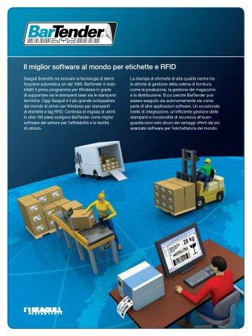 Il miglior software al mondo per etichette e RFID - Progetto 6 srl