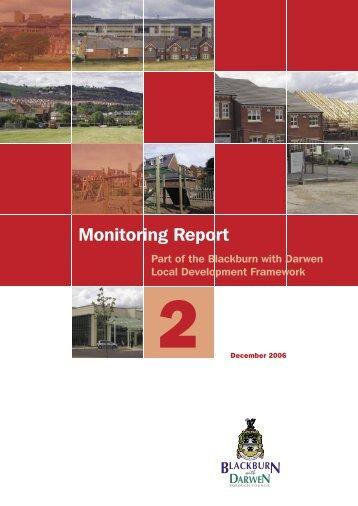 Annual Monitoring Report 2 - Blackburn with Darwen Borough Council