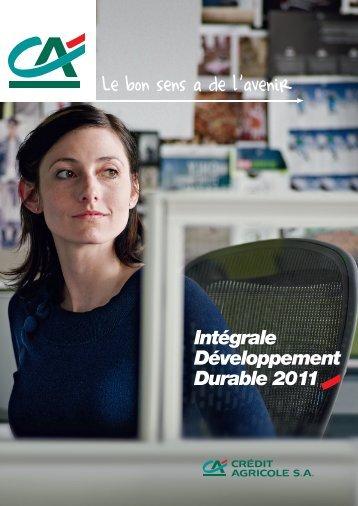 Intégrale Développement Durable 2011 - Crédit Agricole CIB