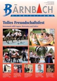 Tolles Freundschaftsfest Steiermark trifft Ungarn ... - Bärnbach