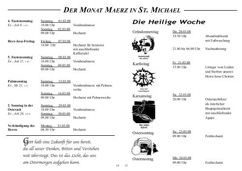 März 2008 - st-michael-rendsburg.de