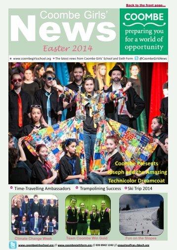 CGS-Newsletter-Easter-2014