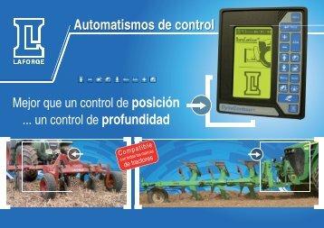 Automatismos de control para elevadores delanteros - Laforge