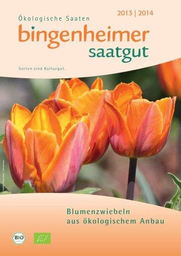 Blumenzwiebel-Katalog - Bingenheimer Saatgut AG