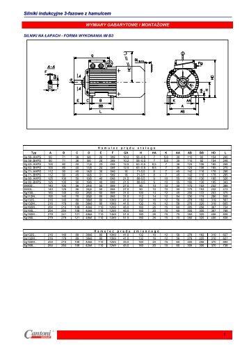 Silniki 3 Fazowe z Hamulcem cz 2.pdf - Silpol