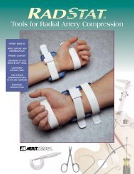 Tools for Radial Artery Compression - Merit Medical