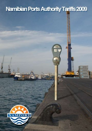 CHapTeR 1 - Namibian Port Authority