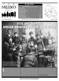 african american history in virginia - The Metro Herald