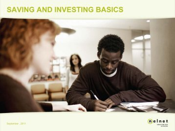 Savings Investing Basics - Texas State Technical College Harlingen