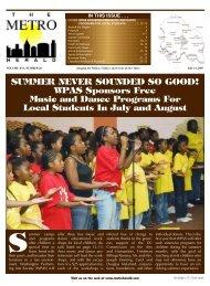WPAS Sponsors Free Music and - The Metro Herald