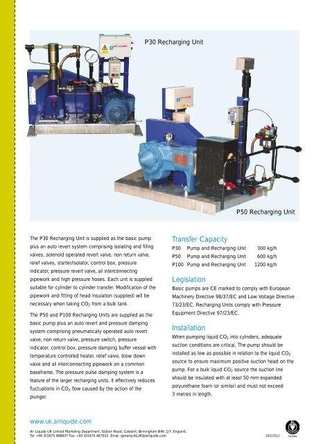 P30 Recharging Unit P50 R