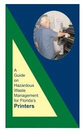 Printers - Florida Department of Environmental Protection