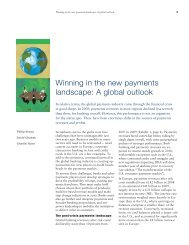Winning in the new payments landscape - McKinsey & Company