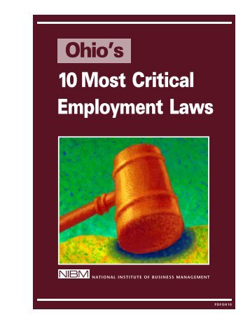 Ohio's 10 Most Critical Employment Laws