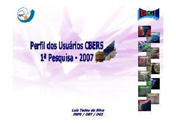 Pesquisa 2007 - INPE-DGI