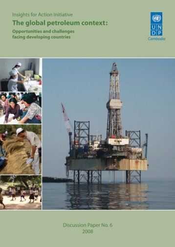 I. The global petroleum context - United Nations in Cambodia