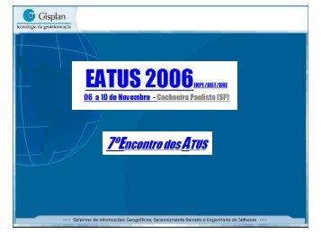 Novos Sistemas e Produtos para 2007 - INPE/OBT/DGI