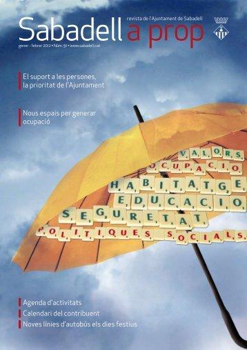 El suport a les persones, la prioritat de l'Ajuntament Nous espais per ...