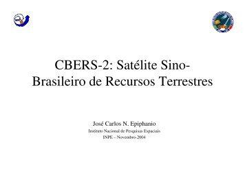 Projeto CBERS - Perspectivas e Ação - INPE-DGI