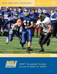 2007 Football Guide - MSJ Lions Athletics