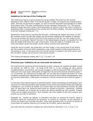 Guidelines for the Use of this Finding Aid This finding aid may be ...