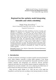 Regional Bus Line Optimize Model Integrating Timetable and ...