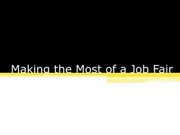 Making the job offer Job fer Letter