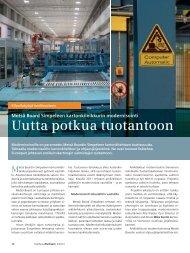 Uutta potkua tuotantoon - Siemens