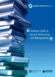 Definitive Guide to Harvard Referencing and Bibliographies