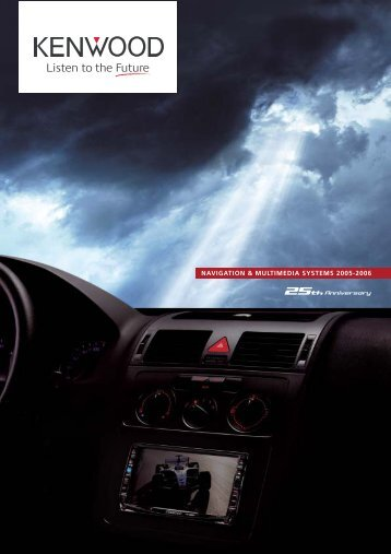 NAVIGATION & MULTIMEDIA SYSTEMS 2005-2006 - Kenwood