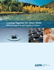 two-year strategy for protecting national water - Circle of Blue