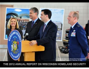 2012 Annual Report On Wisconsin Homeland Security