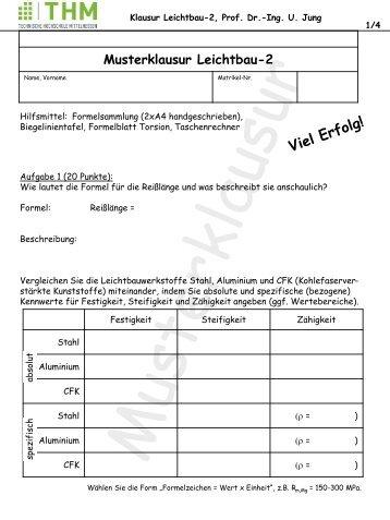 Musterklausur Leichtbau-2