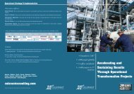 Accelerating and Sustaining Results Through Operational ...