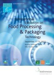 Food Processing & Packaging - International FoodTec India 2012