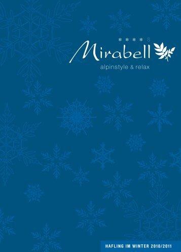 Winter 2010-2011 - Alpenresidence Hotel Mirabell