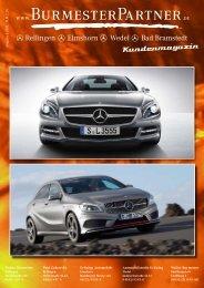 Kundenjournal I 2012 - Walter Burmester GmbH