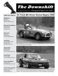 May 2008 - Chicagoland Sports Car Club