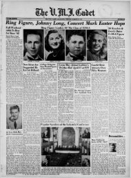 The Cadet. VMI Newspaper. March 29, 1948 - New Page 1 [www2 ...
