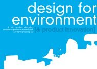 What is Design for Environment? - ResourceSmart