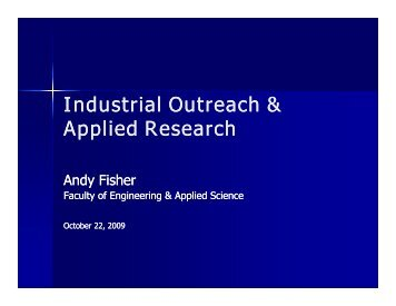 Industrial Outreach & Applied Research - NEIA