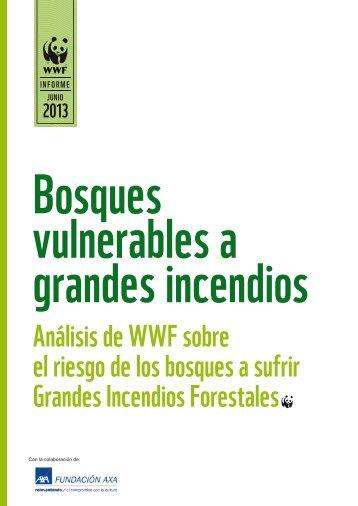 Informe incendios WWF - Axa