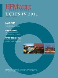 UCITS IV 2011 - HFMWeek