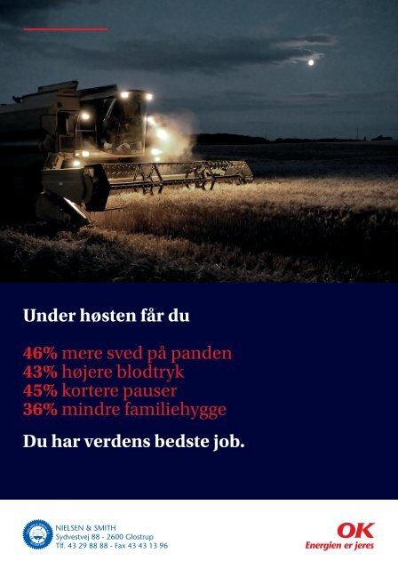 Under høsten får du 46% mere sved på panden 43 ... - NSCORN