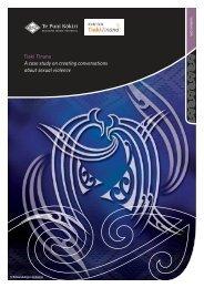 Tiaki Tinana : A case study on creating ... - Te Puni Kokiri